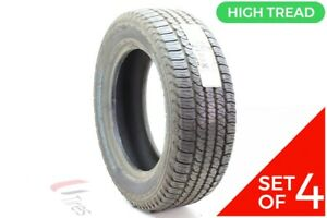 Set Of 4 New 245 60r18 Goodyear Fortera Hl 105s 10 5 32