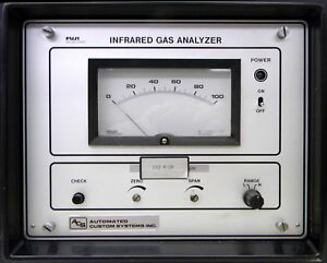 Fuji 3300 Ndir Co2 Analyzer Low Level Infrared Gas Carbon Dioxide Trace