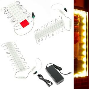 50ft Storefront Orange Led Light 5630 Boost Mobile With Ul Power Supply U s