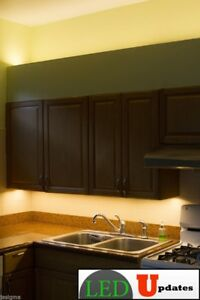 20ft Kitchen Under Cabinet Warm White Led Light With Wireless Dimmer Ul Power