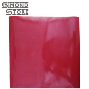 Silicone Rubber Sheet High Temp Solid Red Standard Grade 1 8 X 36 X 36