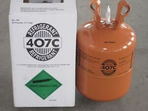 R407c refrigerant 25 Lb Cylinder Lowest Price On Ebay Factory Sealed