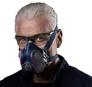 Half Face Mask Respirator Dust Gas Safety Protection Respirators Lightweight New