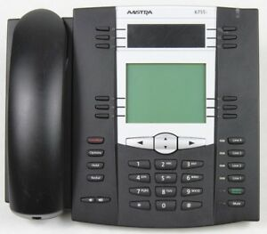 Lot Of 4 Aastra 6755i Voip Office Phones