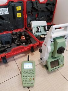 Leica Tcp1205 Robotic Total Station Set With Rx1250tc
