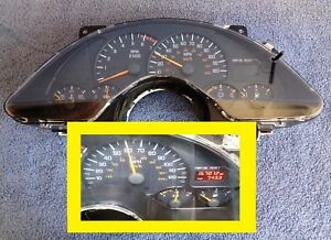 Tested Oem 99 02 3 8 Firebird Camaro Dash Instrument Speedometer Cluster Gauges