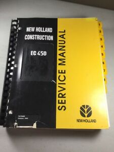 New Holland Ec450 Excavator Service Manual