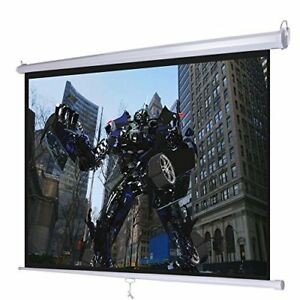 Projection Screen Electric Motorized Remote Hd Movie Projector 169 120