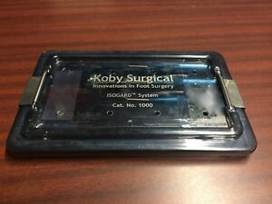 Koby Surgical 1000 Isogard Foot Surgery Instrument Set