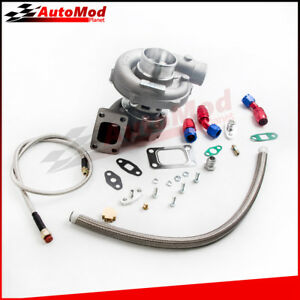 T3 T4 T04e Turb0charger Turbo Oil Return Feed For Mazdaspeed 3 6 Protege 5 323
