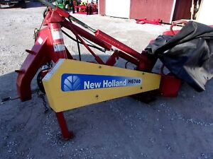 Late Model New Holland H6740 8 Ft Disc Mower Can Ship 1 85 Per Mile