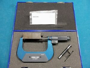 Fowler 52 250 024 Ez read Digital Disc Micrometer 3 4 0001 New In Box
