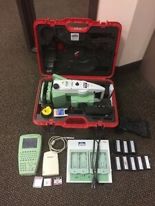 Leica Total Station Tc 1205 With Accessories