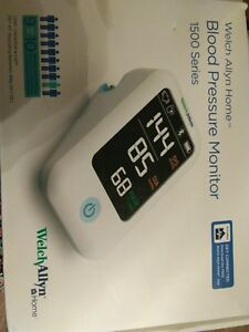 Welch Allyn Home 1500 Series Blood Pressure Monitor With Simple Smartphone Co