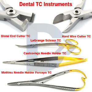 Dental Orthodontic Mathieu Needle Holder Castroviejo Distal End Cutter Hard Wire