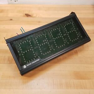 Vorne Industries 87 232 4d 4t Display Module 4 Digit Triple Color Led 120 Vac