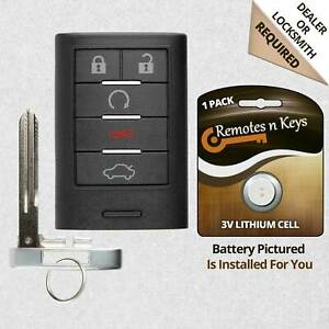 Car Key Fob Alarm Transmitter Remote For 2008 2009 2010 2011 Cadillac Sts