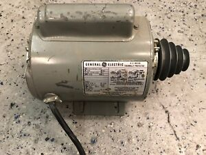 General Electric 3 4hp Single Phase Motor Running