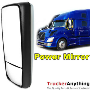 Armless Power Mirror Assembly Volvo Vnl 2004 2015 Side Door Left Driver Chrome