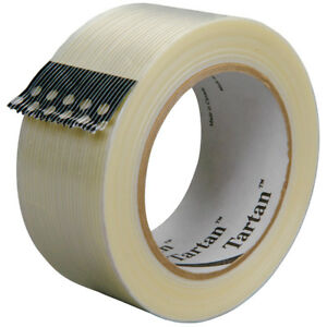 Tartan 3m 8932 Strapping Tape 3 75 Mil 2 X 60 Yds Clear 24 case T9178932