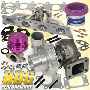 Audi Vw Vag 1 8t Manifold Turbo Oil Cool Horz Wg Velocity Air Flow Stack Purple