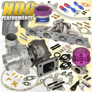 Audi Vag 1 8t Manifold Turbo Shield Horz Wg Velocity Stack Oil Controller Purple