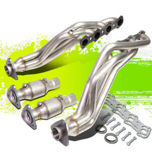 For 99 04 Ford F150 heritage 5 4l V8 High Flow Long Tube Exhaust Manifold Header
