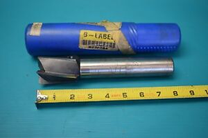 Used Hss Poland 1 3 4 X 7 16 5 Flute End Mill