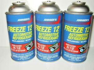 Freeze 12 R 12 R12 Replacement Non flammable No Cfc s 3 12 Oz Cans