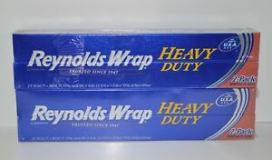 Lot Of 4 Reynolds Wrap Heavy Duty Aluminum Foil 150 Sq Ft Each