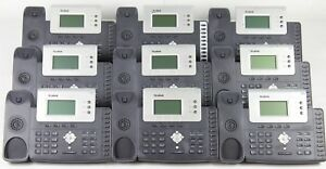 Lot Of 9 Yealink Sip t26p 3 line Ip Office Telephones