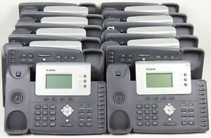 Lot Of 20 Yealink Sip t26p 3 line Ip Office Telephones