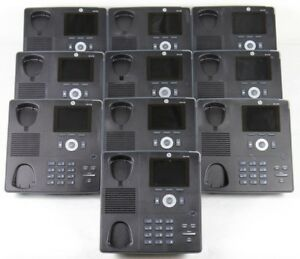 Lot Of 10 Hp 4120 Ip Business Phone J9766b Color Display Voip Office Phones