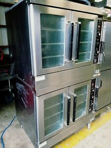 Hobart Dgc5 Series Double Stack Gas Convection Oven