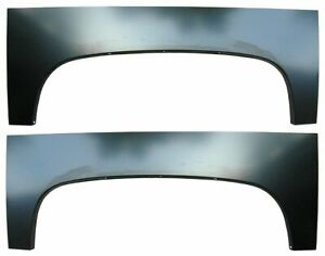 Wheel Arch Bed Panels Chevrolet Silverado 2007 2013 1500 2500 Pair
