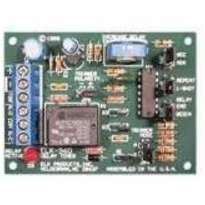 Timer Module Delay Spdt 12 To 24 Vdc Second 60 Minutes