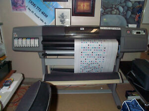 Hp Designjet 5500ps 42 Wide Printer plotter Excellent Condition
