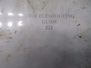 Prentice Hydro Ax Trouble Shooting Guide Service Manual 221