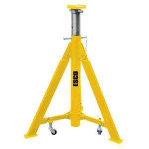 Esco 10493 Hd 10 Ton High lift Jack Stand