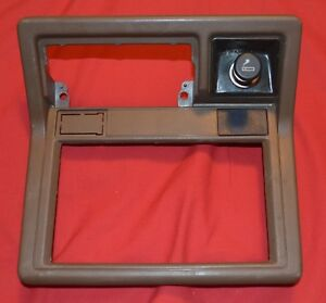 1984 88 Toyota Truck 4runner Radio Dash Benzel Oem Part With Pocket Brown