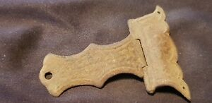 Very Rare Post Medieval Copper Alloy Bible Cover Clasp Uncleaned Con L86g