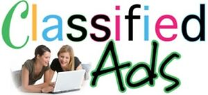 We Will Post 200 Ads On 60 Different Classified Sites For You