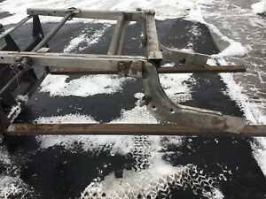 Jaguar Xk120 Rear Chassis Frame Repair Section New Reproduction