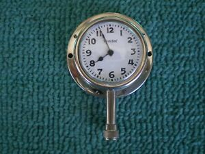 Looks New Old Stock Nos Vintage Westclox Car Clock White Face Model A T Ford