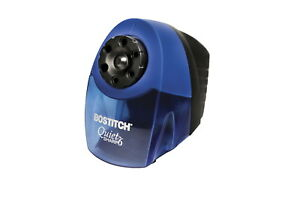Bostitch Quietsharp 6 hole Heavy Duty Electric Pencil Sharpener Blue