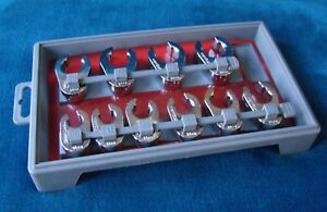 Craftsman Fractional Metric Crowfoot Flare Nut Wrench Set
