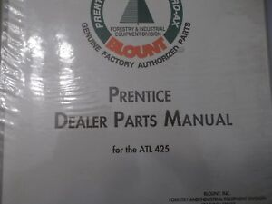Prentice Atl 425 Atl425 Funk Transmission Hydro Ax Manual Parts S n 51198 After