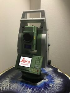 Leica Ts12 P R400 Reflectorless Long Range Bt Robotic Total Station 5