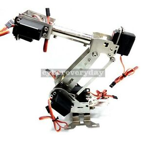 Assembled 6 axis Mechanical Robot Arm Manipulator Claw For Arduino Raspberry