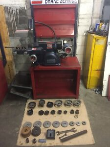 Ammco 4000b Disc And Drum Brake Lathe W Stand Adapters
